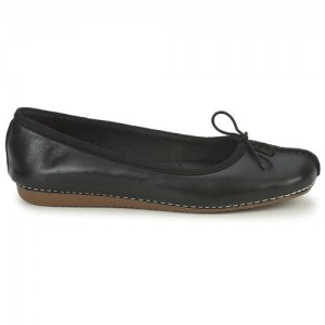 Baleriny FRECKLE ICE BLACK CLARKS
