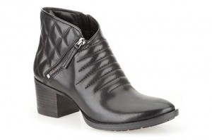 Clarks Botki Movie Retro Black Leather